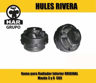 Goma Para Radiador Inferior Mazda 3 Y 6 Cx9 Original