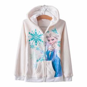 Casaco Infantil Menina Frozen Elza