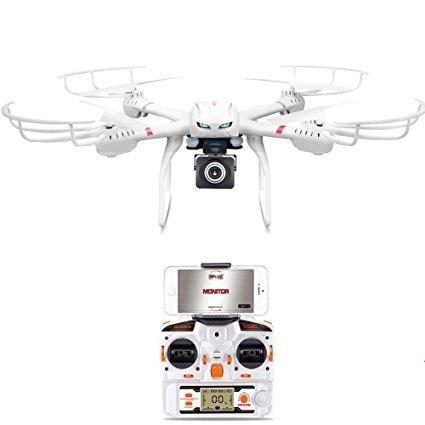 Drone Com Câmera De Vídeo Ao Vivo Hd 720p Wifi Quadcopter