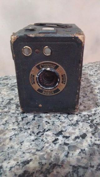 Câmera Fotográfica Antiga Raríssima Coronet Bobox