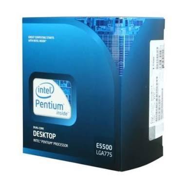 Processador Intel 775 Pentium Dual Core E5500