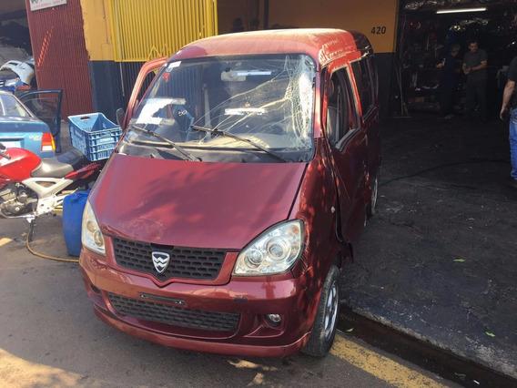 Towner Hafei Minivan 7p 2011/2012 Sucata Para Pecas