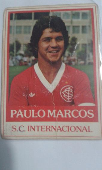 Futebol Cards Ping Pong 227 S.c. Internacional Paulo Marcos