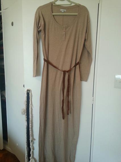Vestido De Algodon De Breshka Importado Impecable