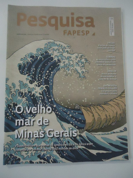Pesquisa Fapesp #220 Ano 2014 Mar De Minas Gerais