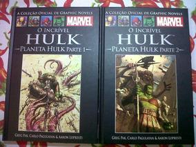 Marvel Salvat Planeta Hulk Partes 1 & 2