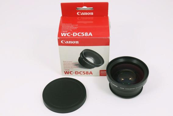 Canon Lente Conversor Wc-dc58a 0.75x Wide