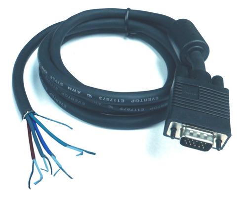 Conector Db-15 Macho Con Cable 1.8 Mts V2022+