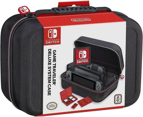Nintendo Switch Joy Con Maleta De Lujo Para Consola Rds