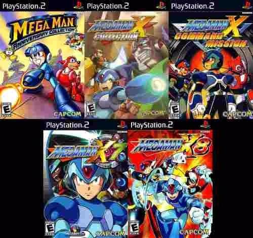 Mega Man Anniversary Collection (kit 20 Jogos Play Station 2