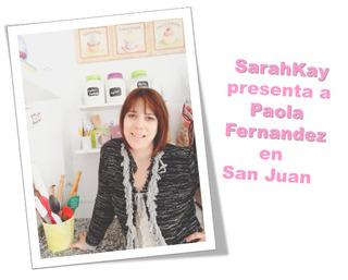Seminario Pasteleria De Tendencia Con Paola Fernandez