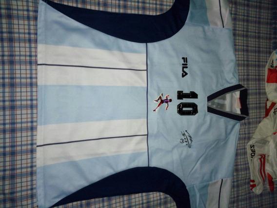 Camiseta Maradona Homenaje 2001 Talle L