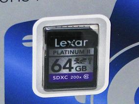 Cartão Sd Lexar 64gb