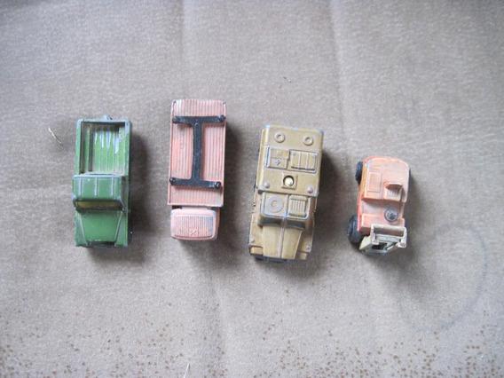 Excelente, 4 Autos Made In Ingland Viejitos,