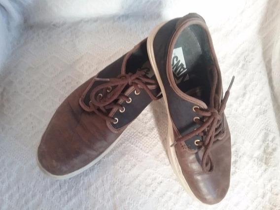 Zapatillas Vans, Cuero (37,5)