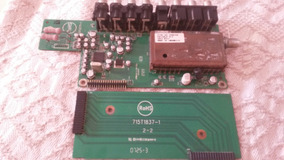 Placa De Sinal 715t2275-1 Da L37w431 + Placa De Conexão