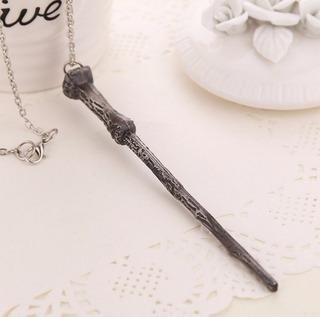 Harry Potter Collar Varita Mágica