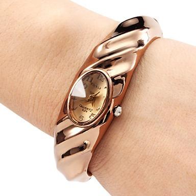 Relógio Quartz Ffc Feminino (bronze)