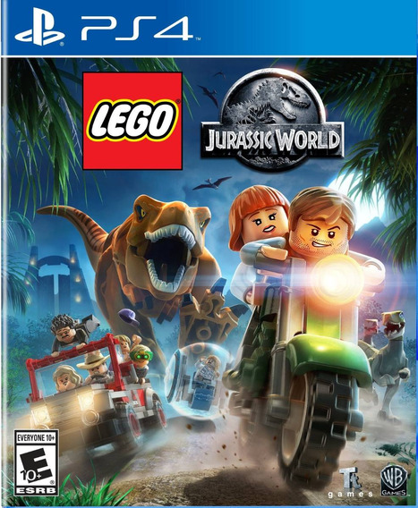 Lego Jurassic World (português) - Ps4 - M Física + F. Grátis