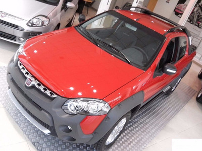 Fiat Strada Adventure Doble Cabina-anticipo $58.000 O Usado