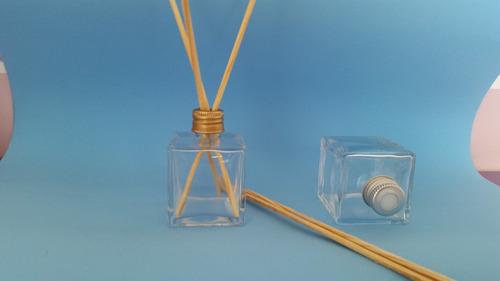 Imagem 1 de 3 de 30 Frasco Vidro-cubo Para Aromatizador 50ml+2litros