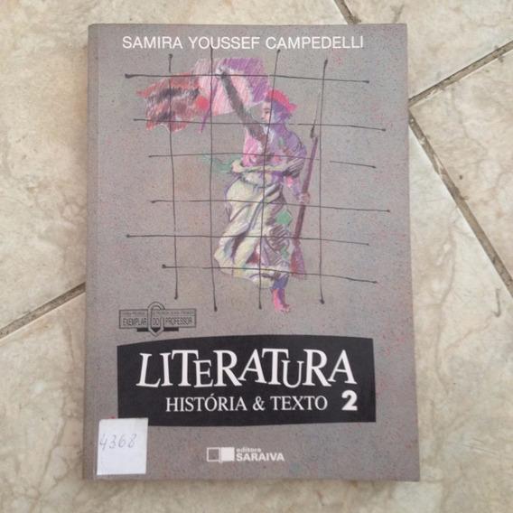 Livro Literatura História & Texto 2 - Samira Youssef C. C2