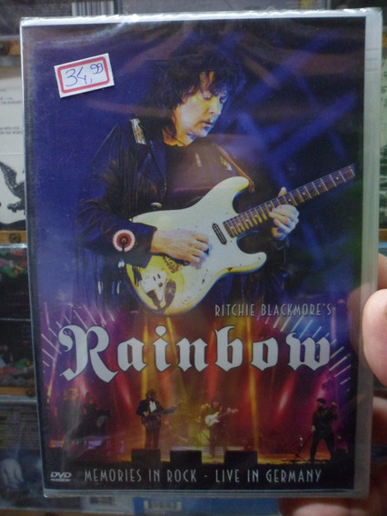 Dvd Rainbow - Live In Germany