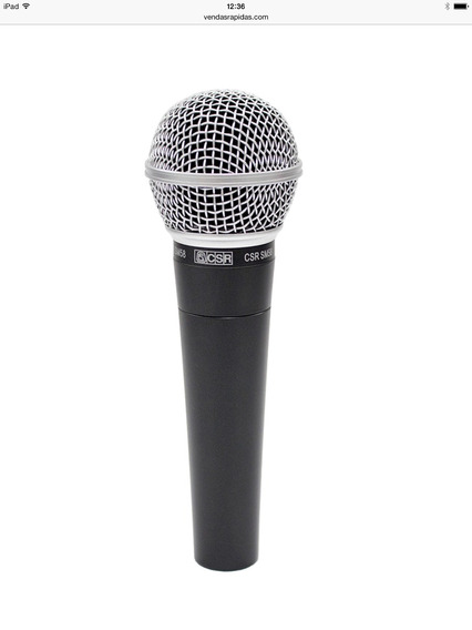 Microfone Csr Sm-58