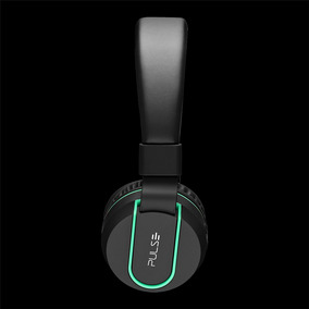 Headphone Stereo Áudio Bluetooth - Ph215 Preto E Verde