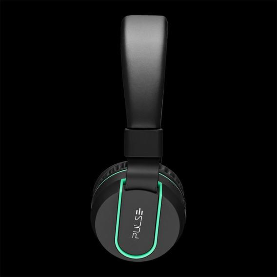 Headphone Stereo Áudio Bluetooth - Ph215 Preto E Verde