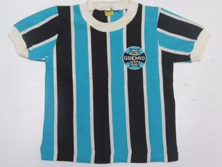 Antiga Camisa De Futebol Do Gremio Marca Athleta Infantil Tu