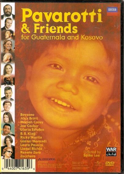 Dvd Pavarotti E Friends - For The Children Of Liberia