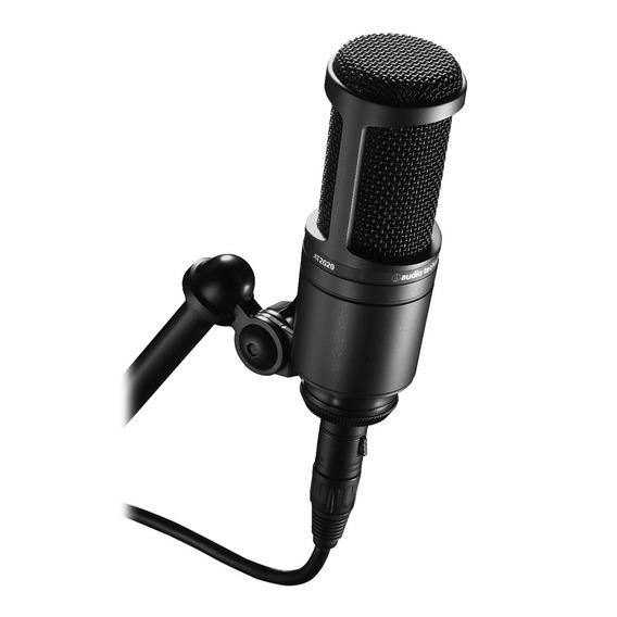 Audio Technica At 2020 Microfone Pro Condensador At2020