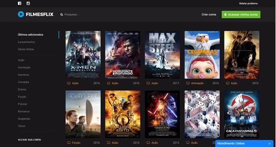 Maior Script De Filmes E Séries Online (funções Netflix)