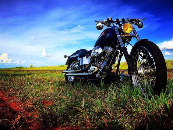 Harley - Davidson - Softail Fx 1450cc - Carburada - Ano 2000