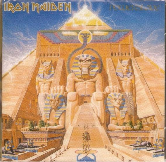 Cd Iron Maiden - Powerslave - Novo Lacrado***