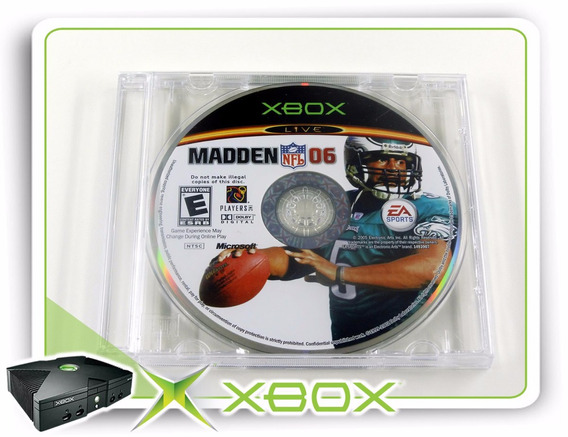 Madden Nfl 06 Original Xbox Clássico Ntsc