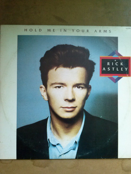 Lp Rick Astley - Hold Me In Your Arms