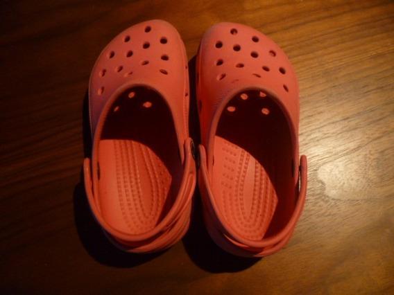 Crocs Originales Fucsia Talle 32