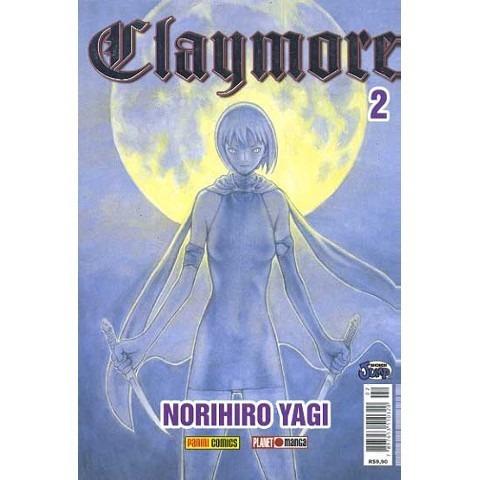 Mangá Claymore Nº 02 - Panini