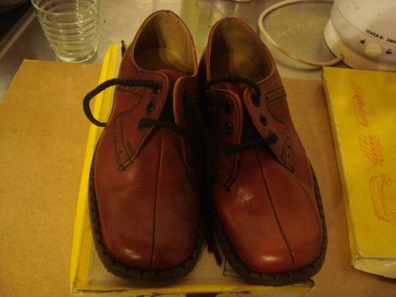 Zapatos Nene 31 Grimoldi Pie Tutoris Marrón Militar Pu Cuero