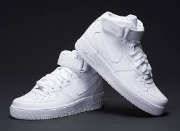 0a425b1f Tenis Nike Air Force One Bota 315123-111 Tallas 7-10.5 Us - $ 350.000 en  Mercado Libre
