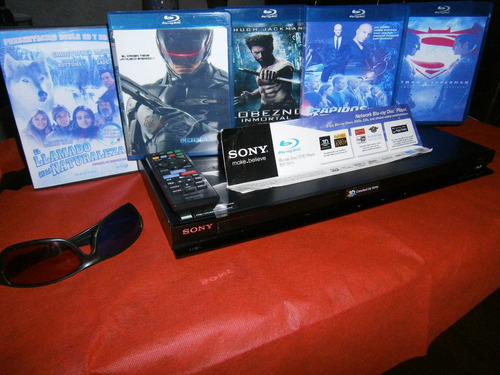 Reproductor De Bluray Sony 3d