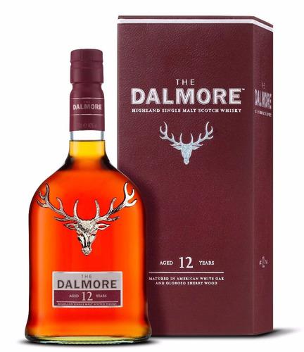 Imagen 1 de 6 de Whisky The Dalmore 12 Años Single Malt 700ml En Estuche