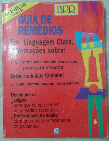 Bpr Guia De Remédios Em Linguagem Clara
