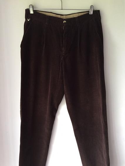 Pantalon De Corderoy Pinzado