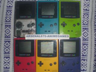 Game Boy Color 1 Consola Mario Land 1 Y 2 Tetris Tortuga Gbc