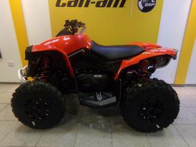 Cuatriciclo Can Am Renegade 570 Rojo Linea Nueva 2017