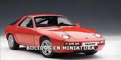 Porsche 928 - Rojo - Icono Clasico Aleman - Autoart 1/18