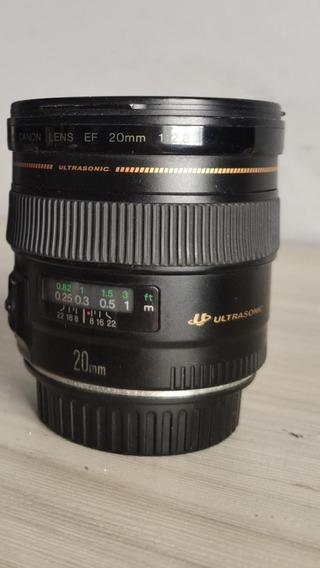 Lente Canon 20mm F2.8